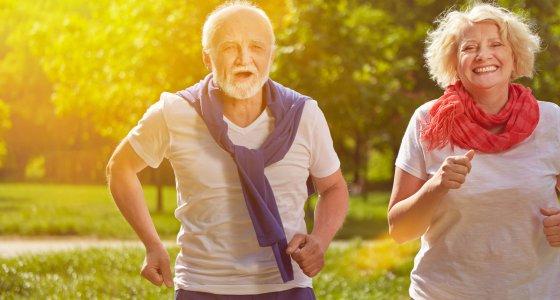 ältere Menschen beim Joggen. /Robert Kneschke, stock.adobe.com