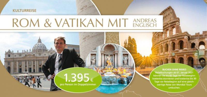 ROM & VATIKAN MIT ANDREAS ENGLISCH