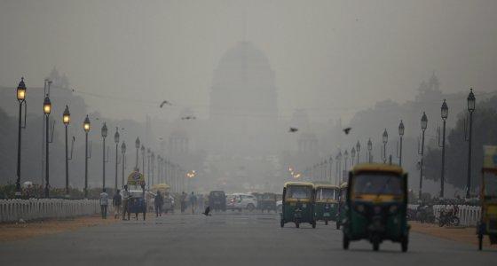 Feinstaub in Neu Delhi /dpa