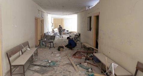 Guterres lässt Bombardements auf syrische Krankenhäuser untersuchen
