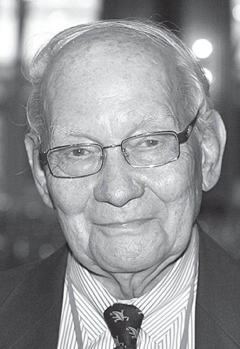 Manfred Eigen, Foto: dpa
