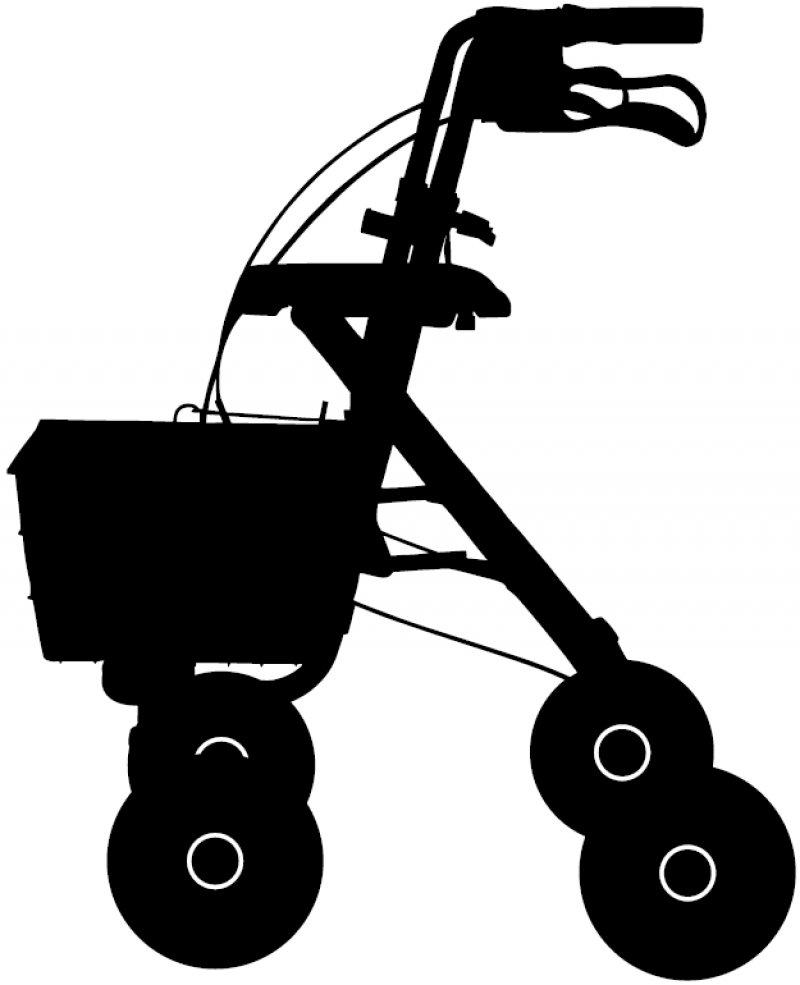Rollatoren sind Teil des Verzeichnisses, auch für sie geltenneue Regeln für Qualität und Funktionalität. Foto: lantapix/stock.adobe