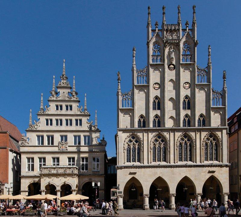 Rathaus, Münster. Foto: Presse- und Informationsamt Münster