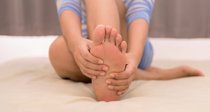 Pain on the Plantar Surface of the Foot