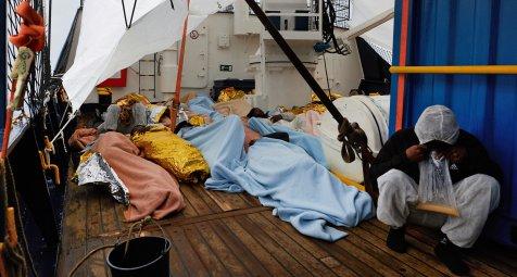Sea-Eye meldet medizinischen Notfall