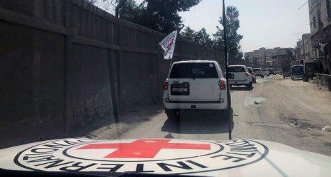 Taliban geben wieder Sicherheitsgarantien für Helfer des Roten Kreuzes...