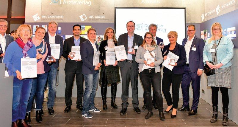 Preisverleihung: Die diesjährigen Gewinner des Big Award 2019 wurden Mitte März in Hannover gekürt. Foto: Figiel