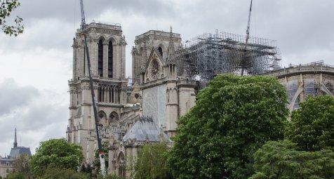 Neue Sicherheitsvorschriften wegen Bleibelastung an Notre-Dame