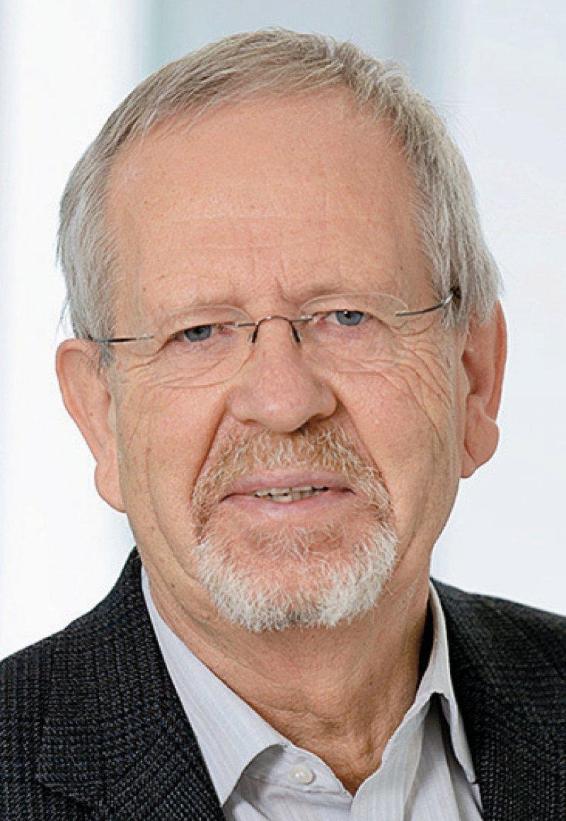 Wolfgang Schlegel, Foto: Tobias Schwerdt/DKFZ