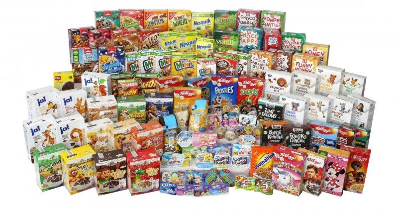 foodwatch hat 110 an Kinder beworbene Lebensmittel untersucht. Alle Joghurts und 90 Prozent der Frühstückflocken enthalten mehr Zucker als die WHO für Kinderlebensmittel empfiehlt. /foodwatch