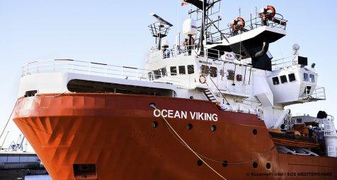 """""""Ocean Viking"""" rettet 182 Flüchtlinge aus Mittelmeer"""