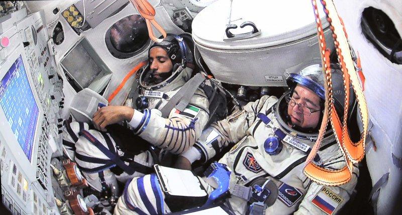 Trainingseinheit für die bevorstehende Mission auf der Internationalen Raumstation im Yuri Gagarin Kosmonauten Trainingszentrum in Zvyozdny Gorodok. (ISS Expedition ISS-61/62/EP-19) /picture alliance