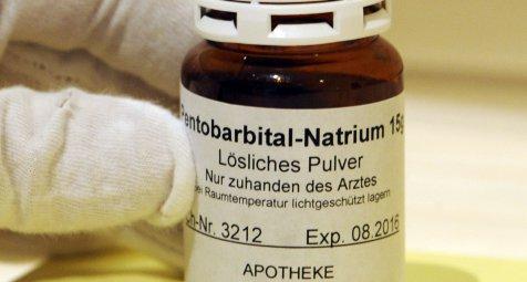 Anklage wegen unerlaubten Exports von Pentobarbital-Natrium
