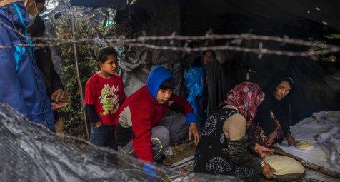 Griechenland: Erstmals mehr als 40.000 Migranten auf Inseln im Osten...