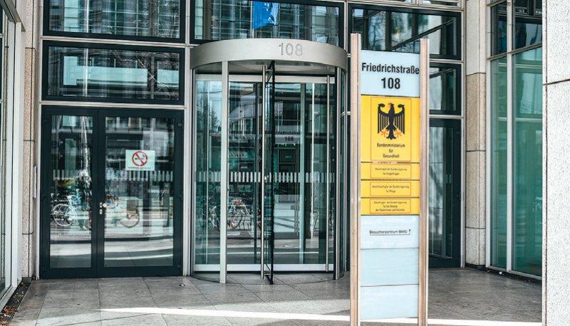 Im Bundesministerium für Gesundheit sind noch Leitungspositionen unbesetzt. Foto: picture alliance/Winfried Rothermel