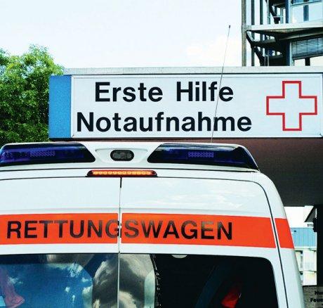 Zuweisungen von Notfallpatienten an abgemeldete Krankenhäuser (Akutbelegung)