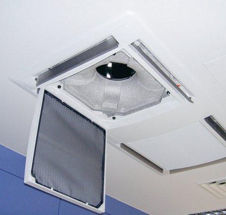 Umluftkühlgeräte und Luftreinigung