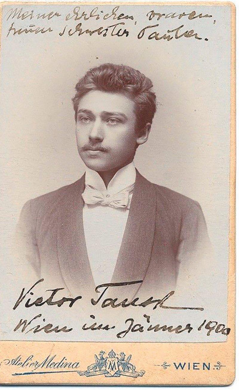Victor Tausk im Alter von etwa 21 Jahren in Wien