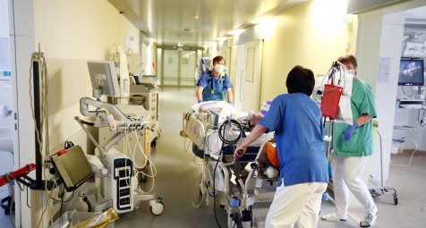 Thüringer COVID-19-Patienten werden in andere Länder verlegt