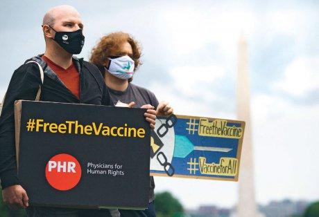 Patentfreigabe für Impfstoffe