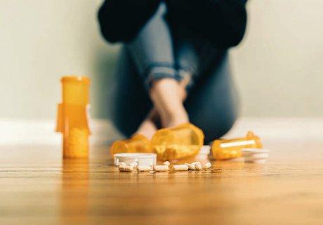 Opioidabhängige Menschen