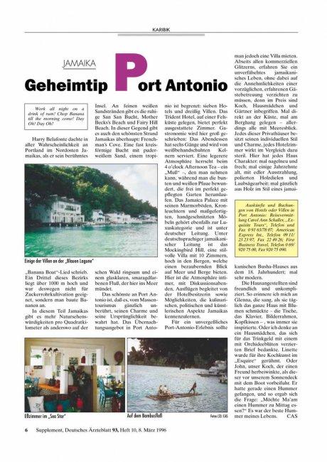 JAMAIKA: Geheimtip Port Antonio