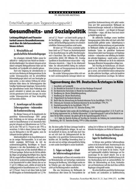 Entschließungen zum Tagesordnungspunkt IV: Novellierung der (Muster-) Weiterbildungsordnung