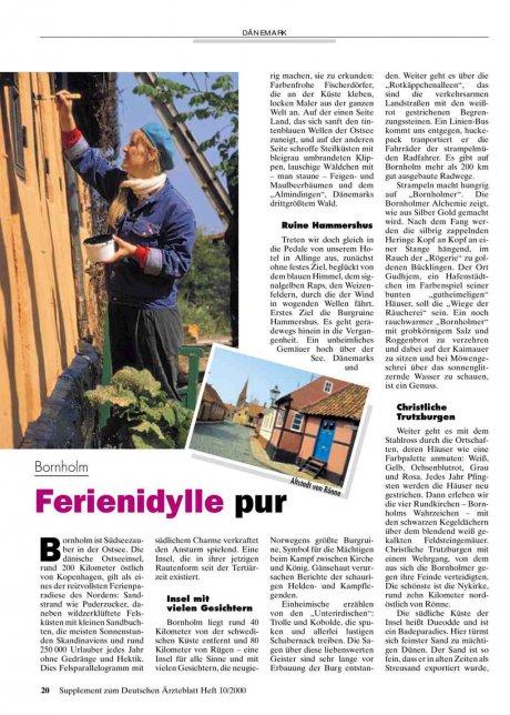 Bornholm: Ferienidylle pur