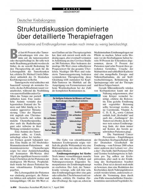 Deutscher Krebskongress: Strukturdiskussion dominierte über detaillierte Therapiefragen