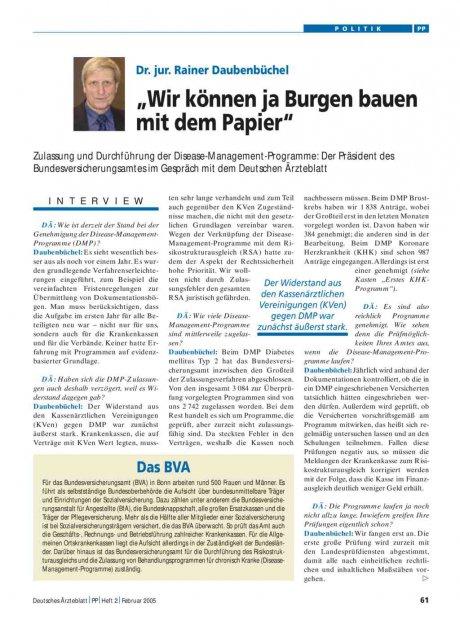 """Dr. jur. Rainer Daubenbüchel: """"Wir können ja Burgen bauen mit dem Papier"""""""