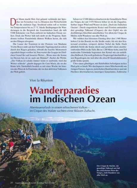 Vive la Réunion: Wanderparadies im Indischen Ozean