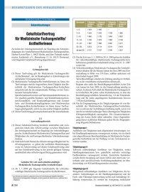 Bekanntmachungen Gehaltstarifvertrag Für Medizinische