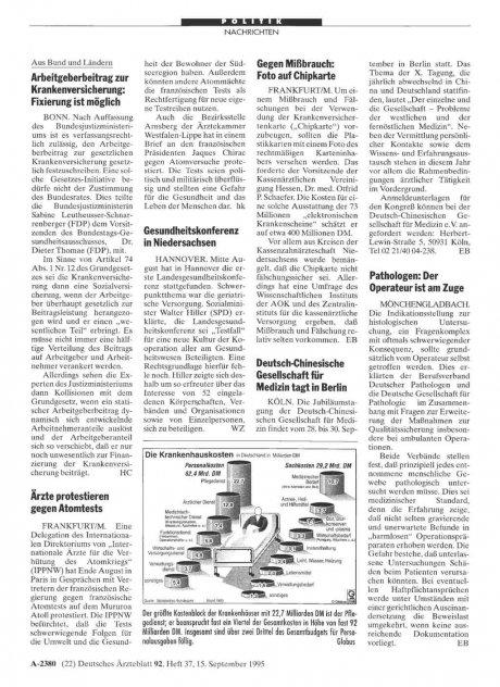 Gesundheitskonferenz in Niedersachsen