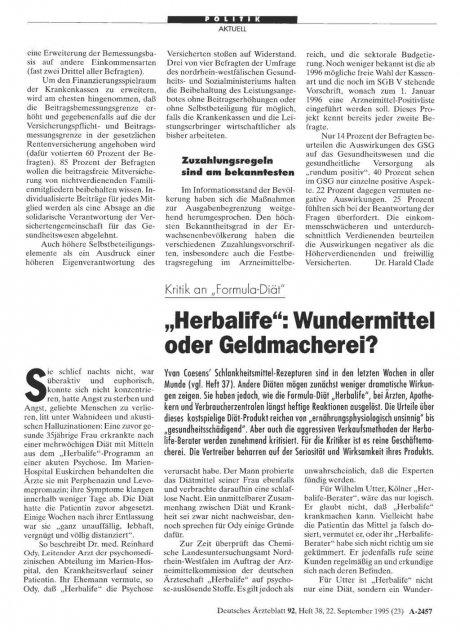 """Kritik an """"Formula-Diät"""" """"Herbalife"""": Wundermittel oder Geldmacherei?"""