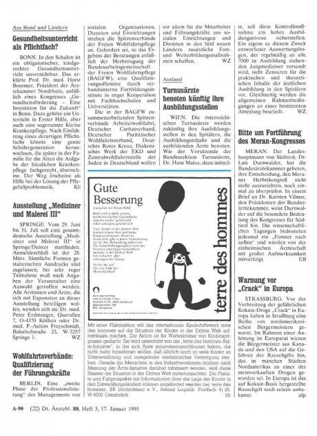 """Ausstellung """"Mediziner und Malerei III"""""""