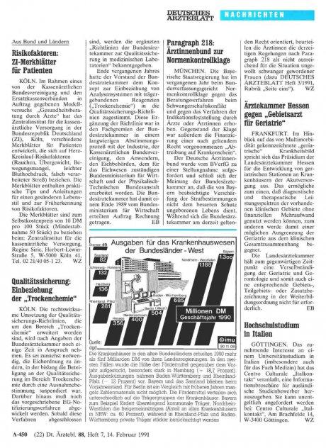 """Ärztekammer Hessen gegen """"Gebietsarzt für Geriatrie"""""""