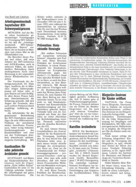 Arbeitsgemeinschaft bayerischer HIV-Schwerpunktpraxen