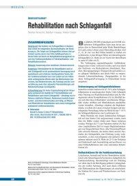 Rehabilitation Nach Schlaganfall