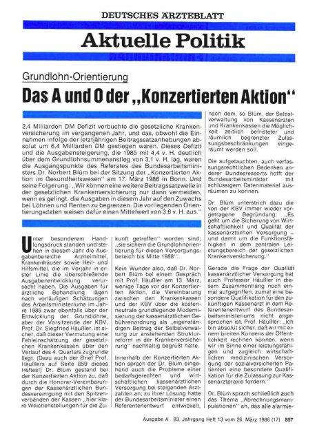 """Grundlohn-Orientierung: Das A und 0 der """"Konzertierten Aktion"""""""