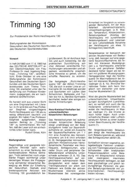 Trimming 130