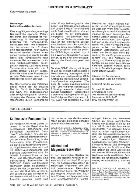 Sulfasalazin-Pneumonitis