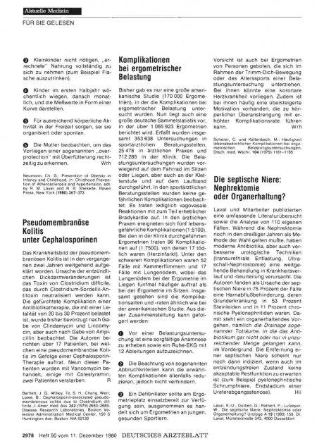 Die septische Niere: Nephrektomie oder Organerhaltung?