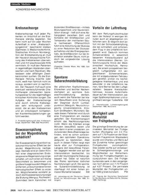 Häufigkeit und Mortalität von Frühgeburten