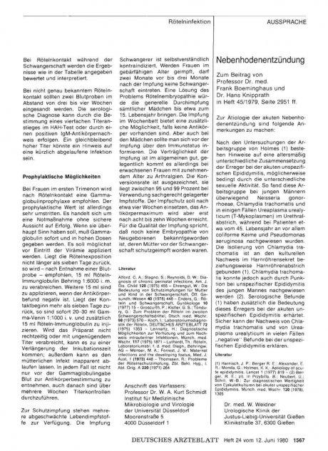 Nebenhodenentzündung