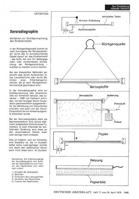 Xeroradiographie