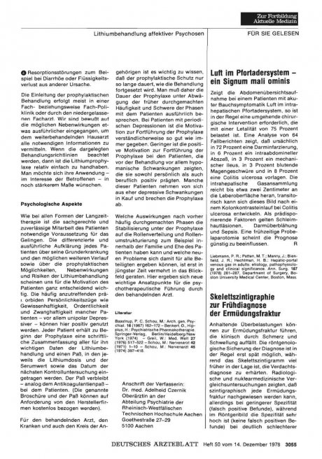 Skelettszintigraphie zur Frühdiagnose der Ermüdungsfraktur