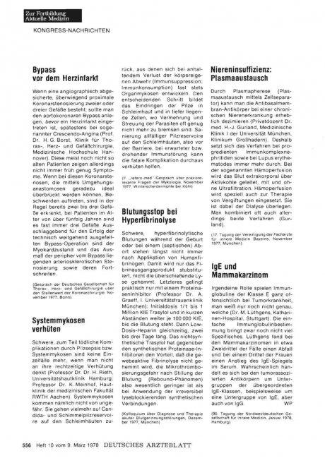 Blutungsstop bei Hyperfibrinolyse