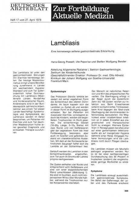 Lambliasis