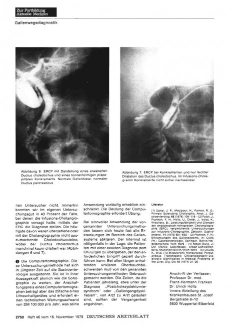 Akutbehandlung der Hypertonie