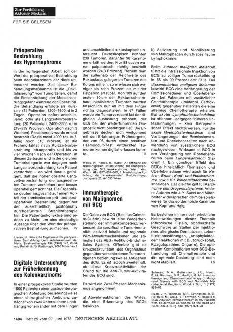 Tollwutschutzimpfung mit HDCS 1 )-Gewebekulturvakzine